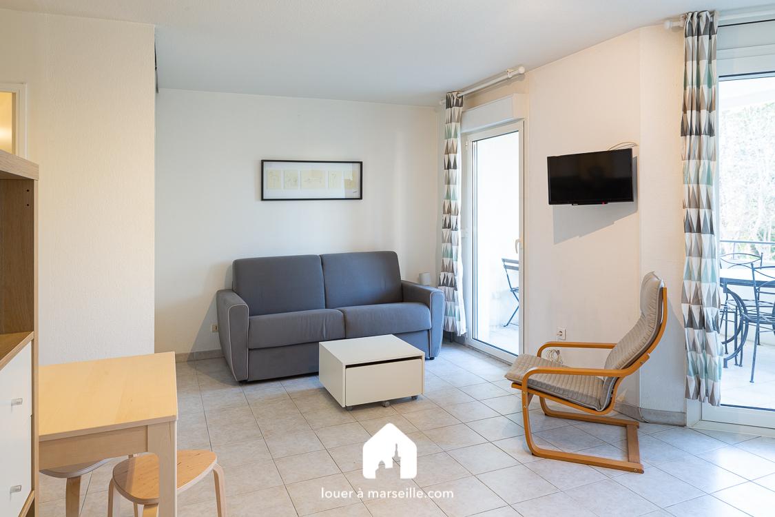 Studio meublé - Marseille  13008