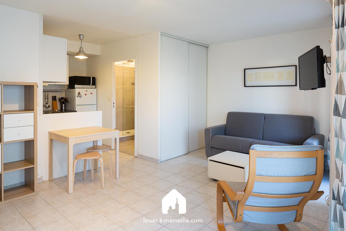 Studio Belle Ile - Marseille 13008