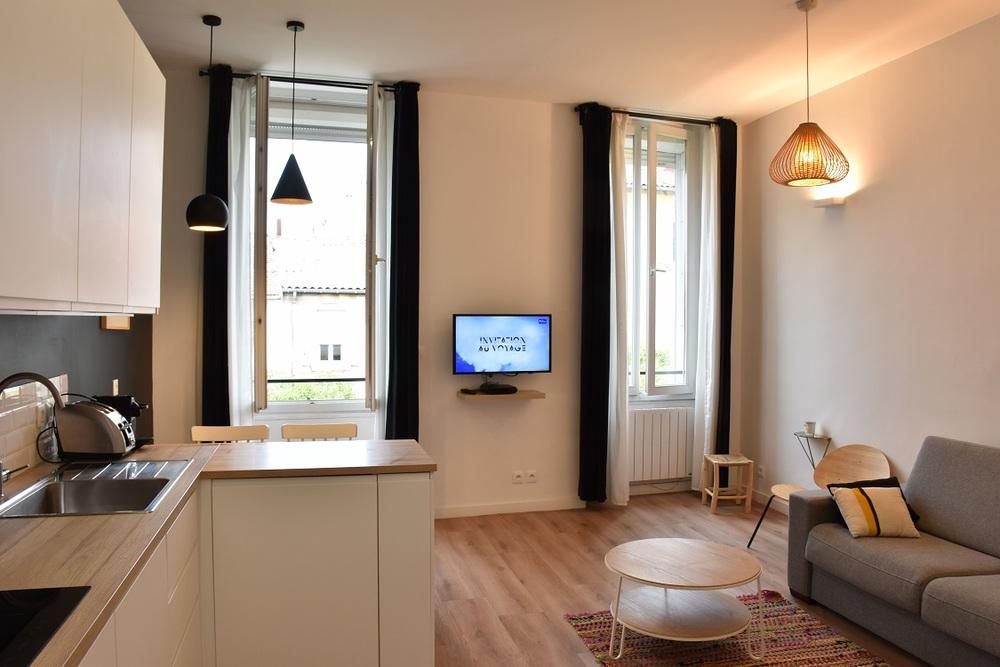 Appartement meublé 1 chambre - Marseille  13006