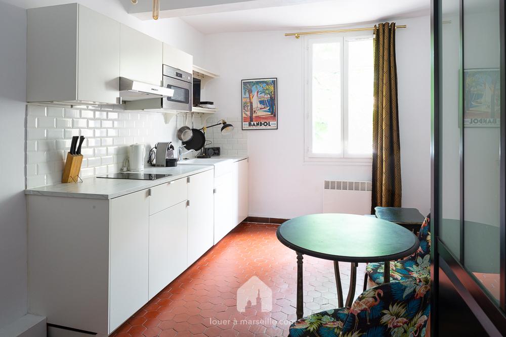 Appartement meublé 1 chambre - Marseille  13002
