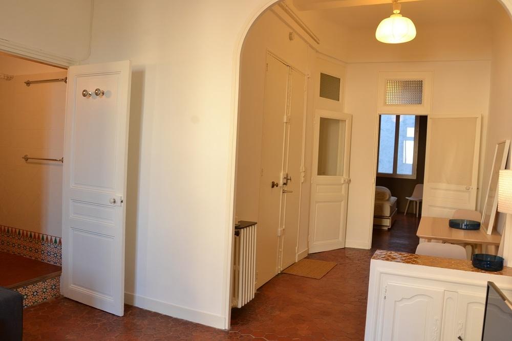 Appartement meublé 2 chambres - MARSEILLE  13006