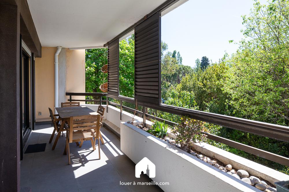 Appartement meublé 2 chambres - MARSEILLE  13008